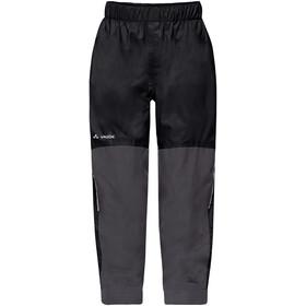 VAUDE Escape Padded III Pantalones Niños, black uni